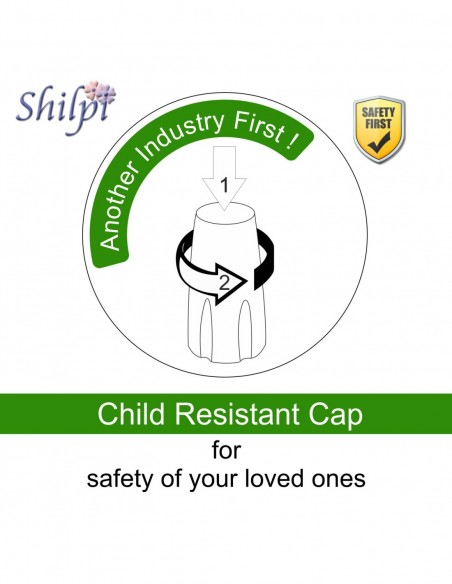Shilpi Alcohol Ink Child Resistant Cap