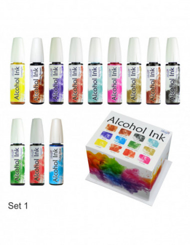Shilpi Alcohol Ink Set 1