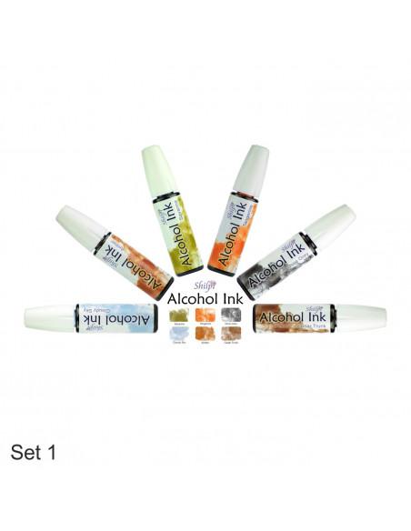 Shilpi Alcohol Ink Set 1