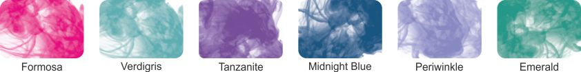 Alcohol Ink Pack of 6 - Set 5