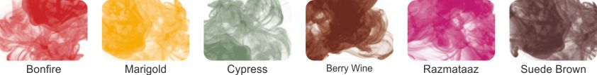 Alcohol Ink Pack of 6 - Set 7