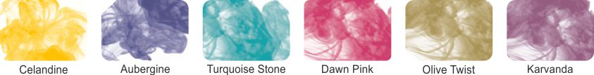 Alcohol Ink Pack of 6 - Set 8